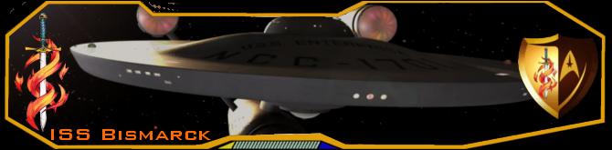 ISS Bismarck Banner