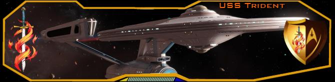 USS Trident banner